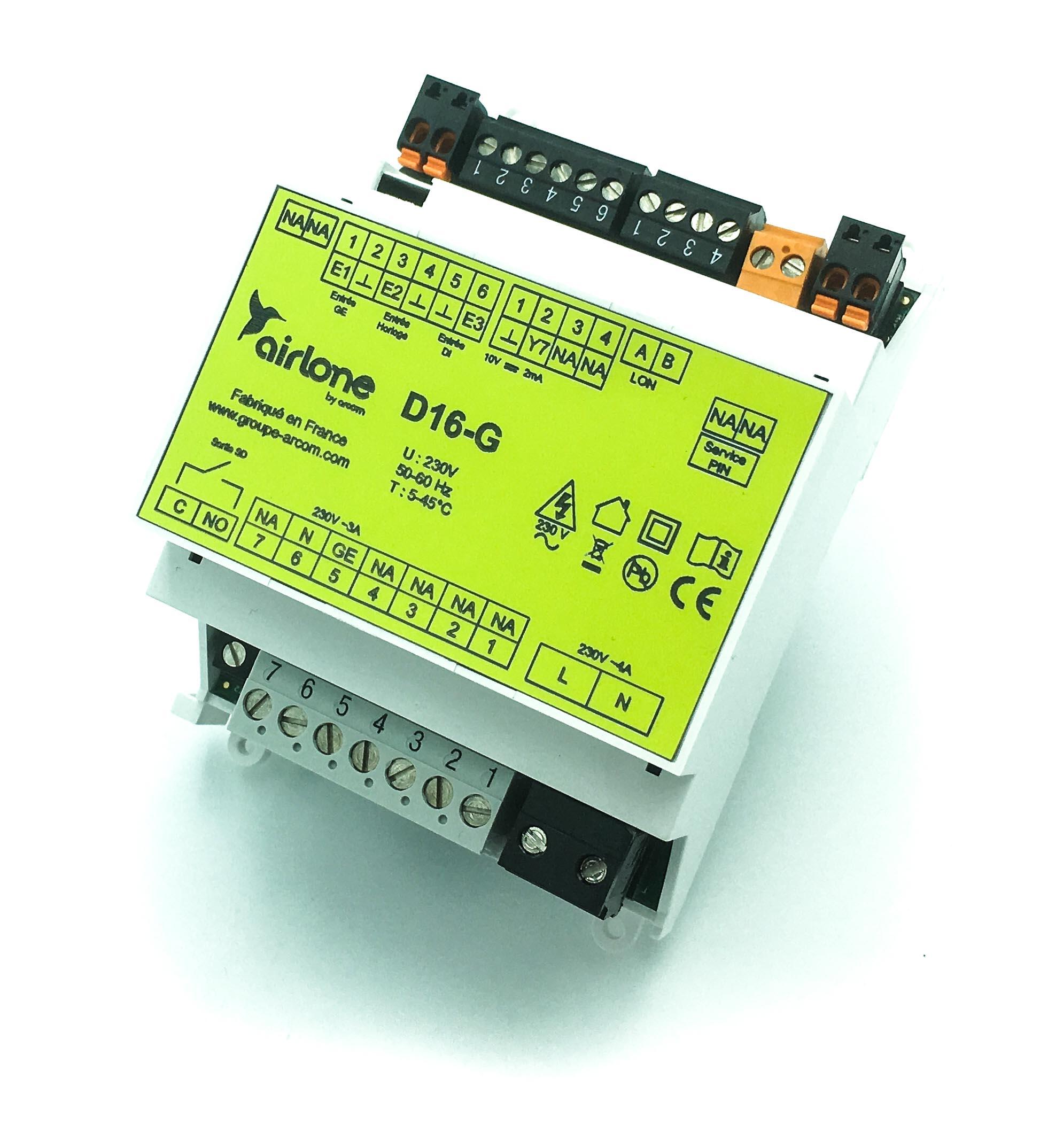 Interface de delestage TST-D16-G