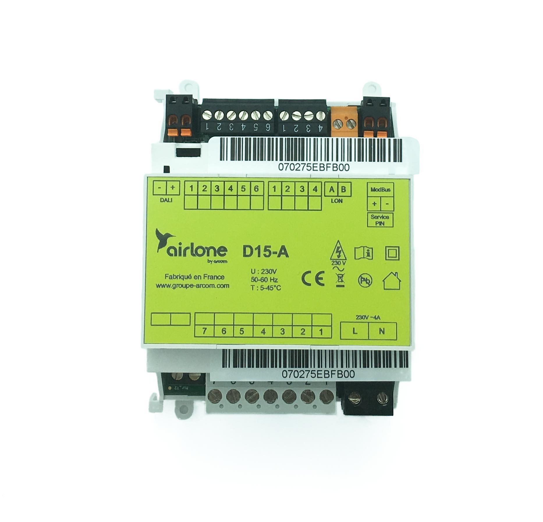 Interface de detection de gaz TST-D15-A